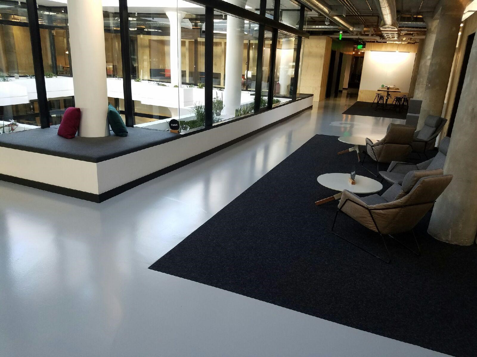 Ardex Topping Slab And Custom Color Epoxy And Urethane