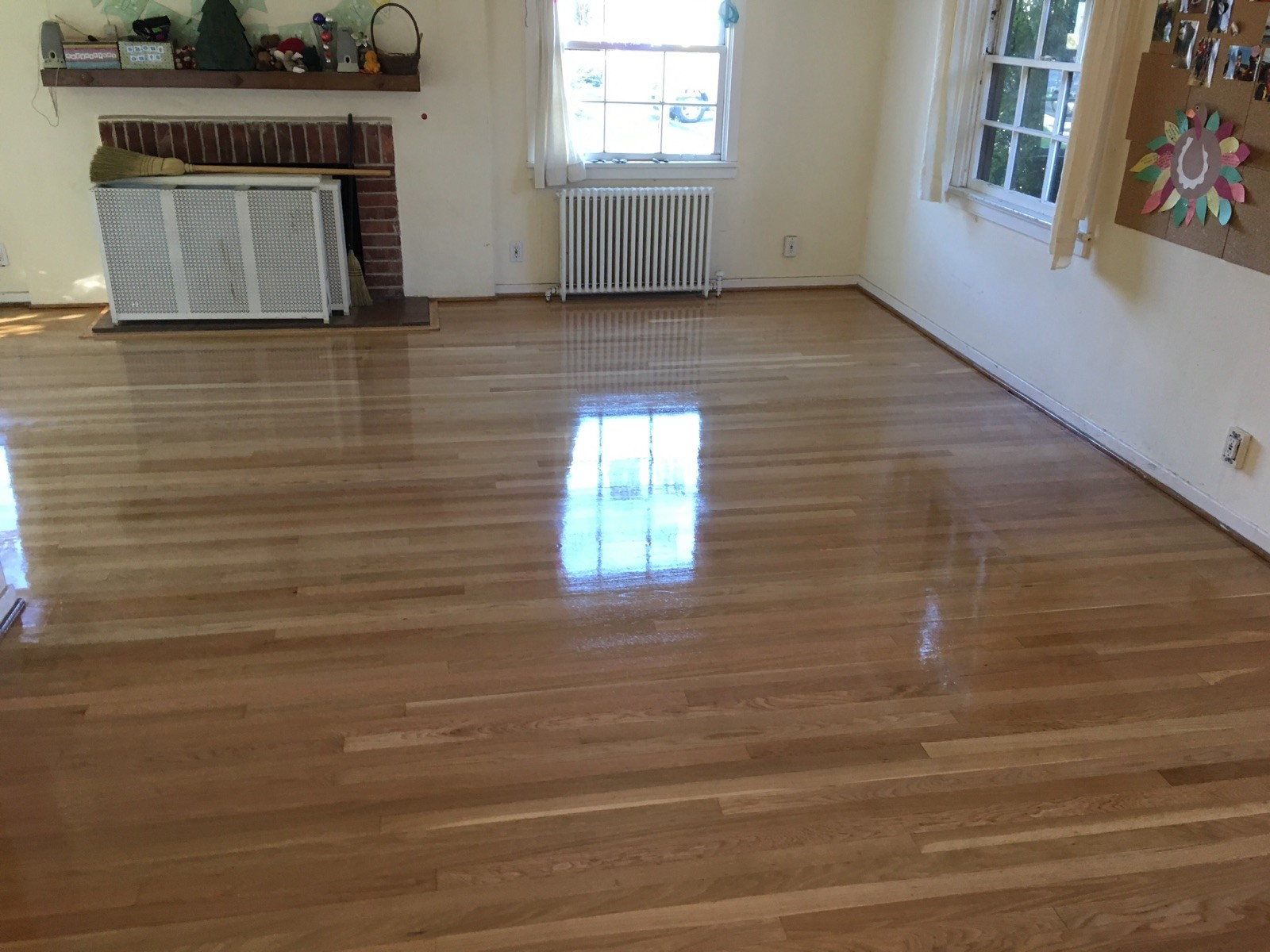Water Damage On Your Wood Floors Call Baker S Floor And